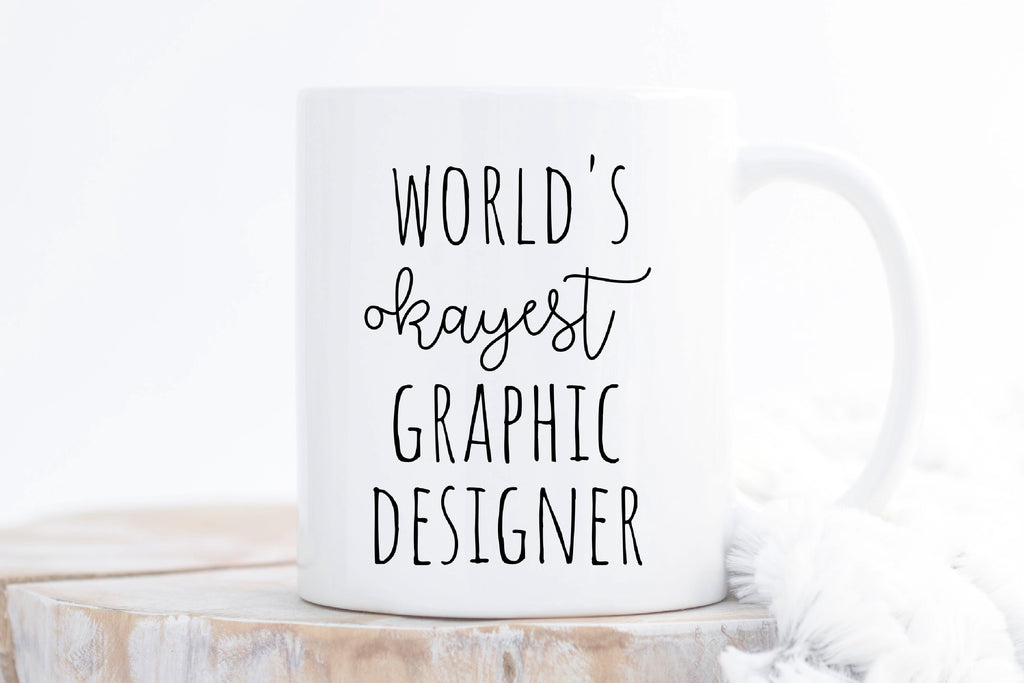 Gift Mug for Graphic Designer