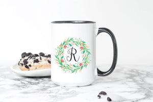 Personalized Coffee Mugs with Initial