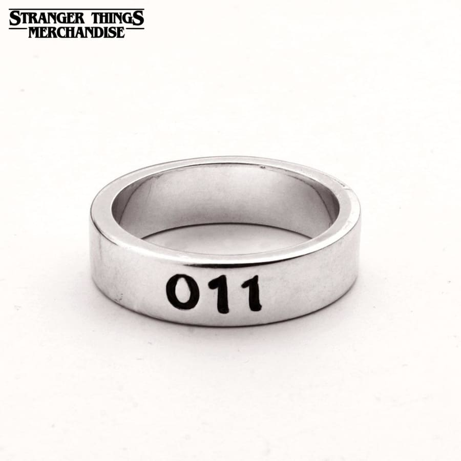 Stranger Things Ring <br>011 (Silver)