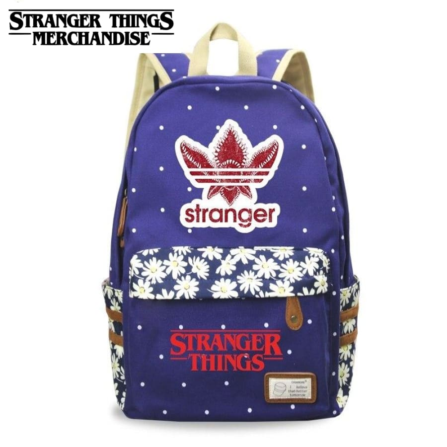 Stranger Things mini Backpack <br> Adidas Classic Flower