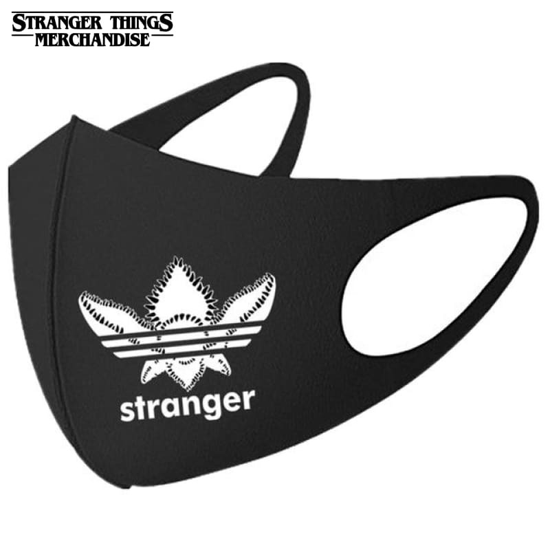 Stranger Things Face Mask <br>Adidas Parody