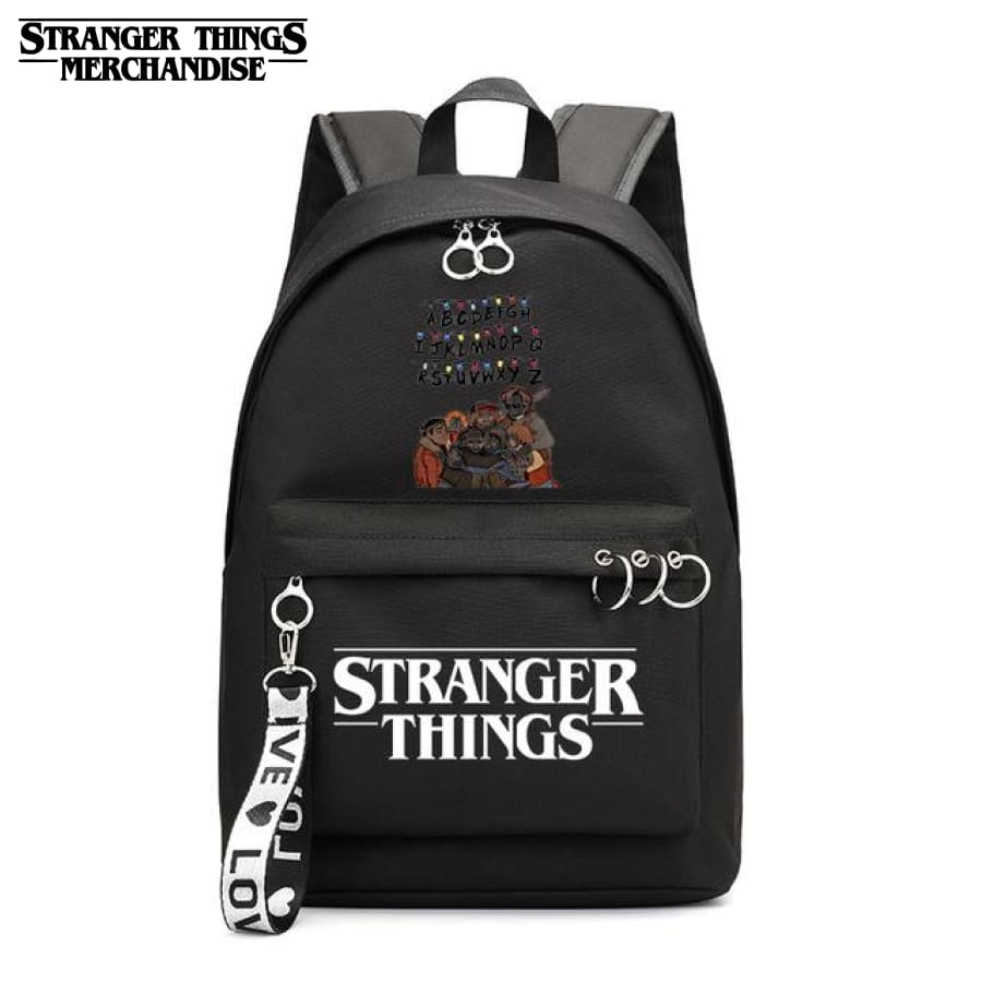 Stranger Things Mini Backpack <br> Alphabet