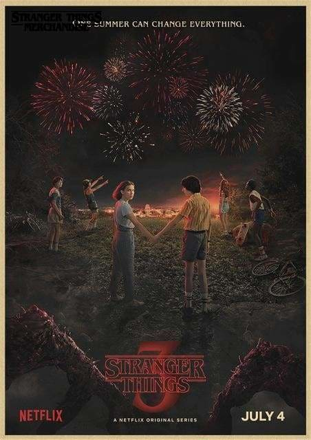 Stranger Things Season 3 Poster <br> Backgrounds