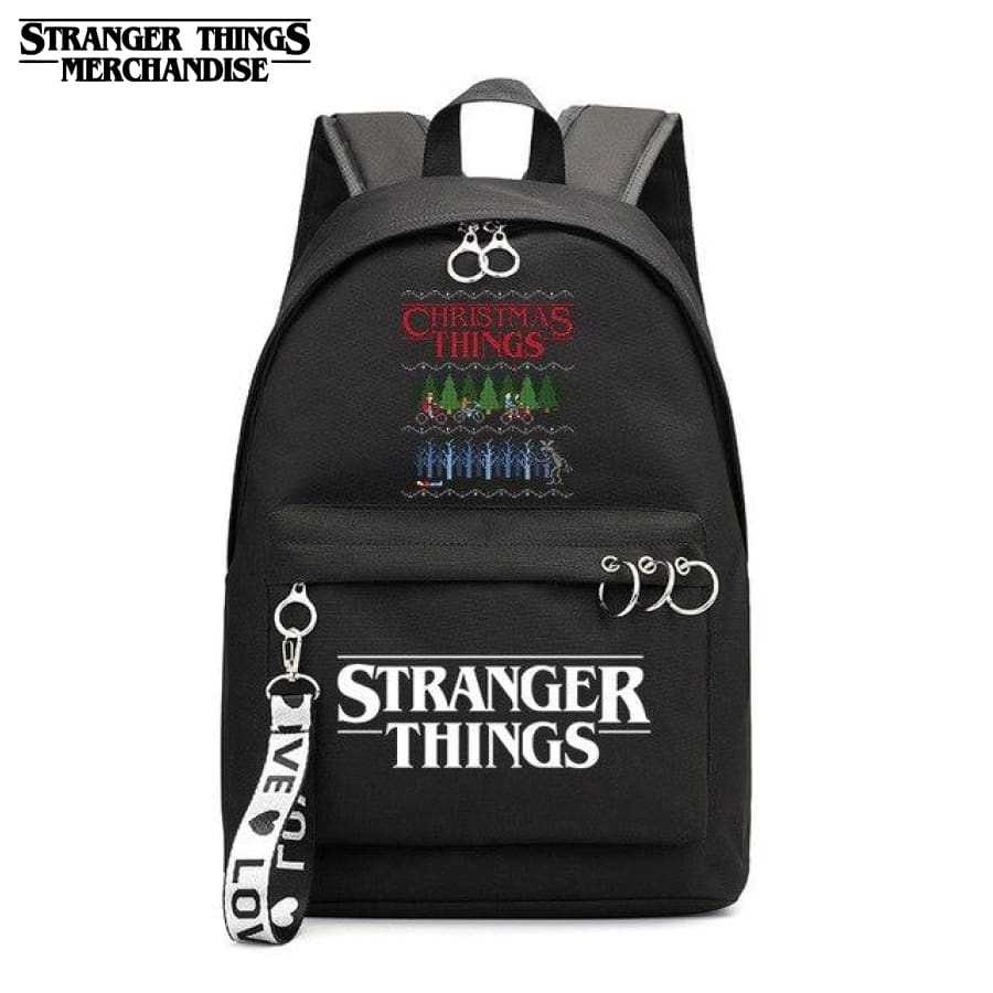 Stranger Things Mini Backpack <br> Christmas Ornament
