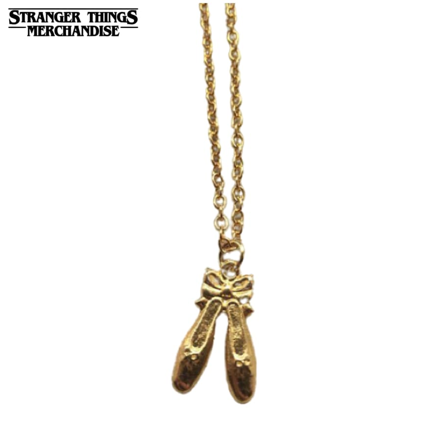 Stranger Things Necklace <br>Nancy Wheeler Ballet Slippers (Season 3)