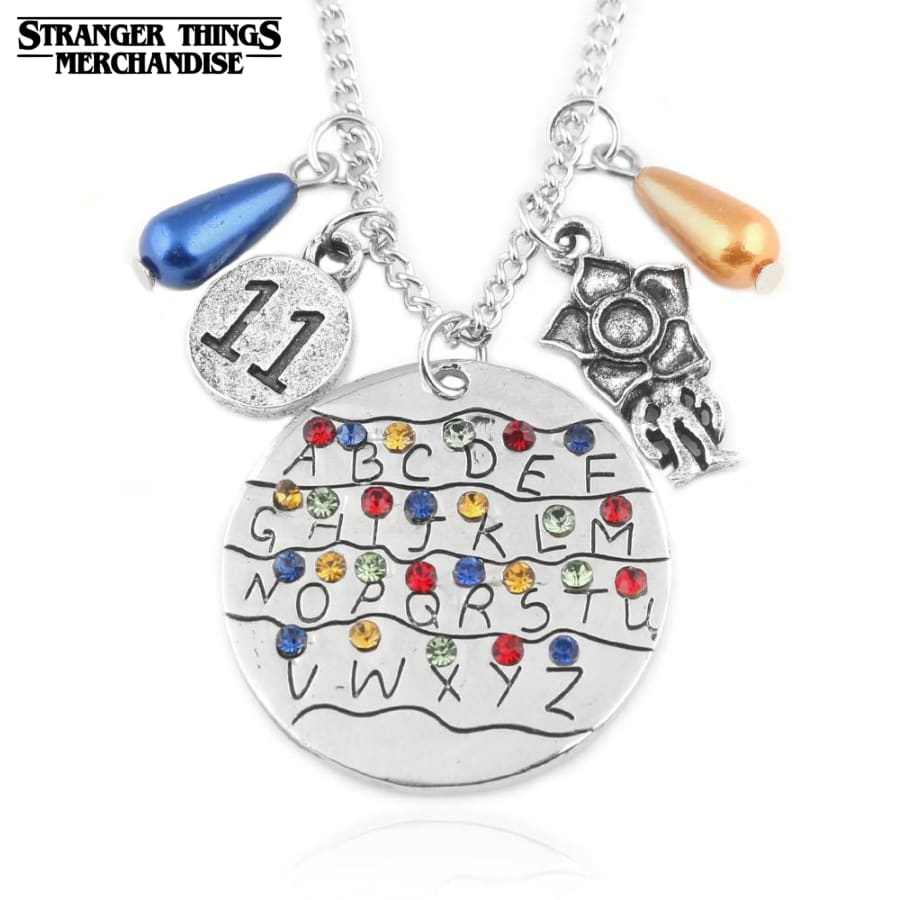 Stranger Things Necklace <br>Charm