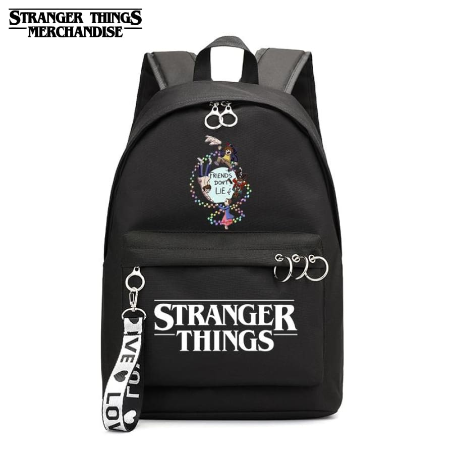 Stranger Things Mini Backpack <br> Black