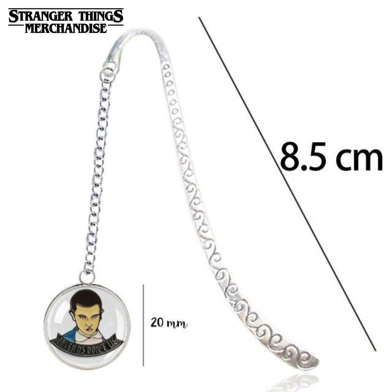 Stranger Things Bookmark <br>Eleven (Black & White)