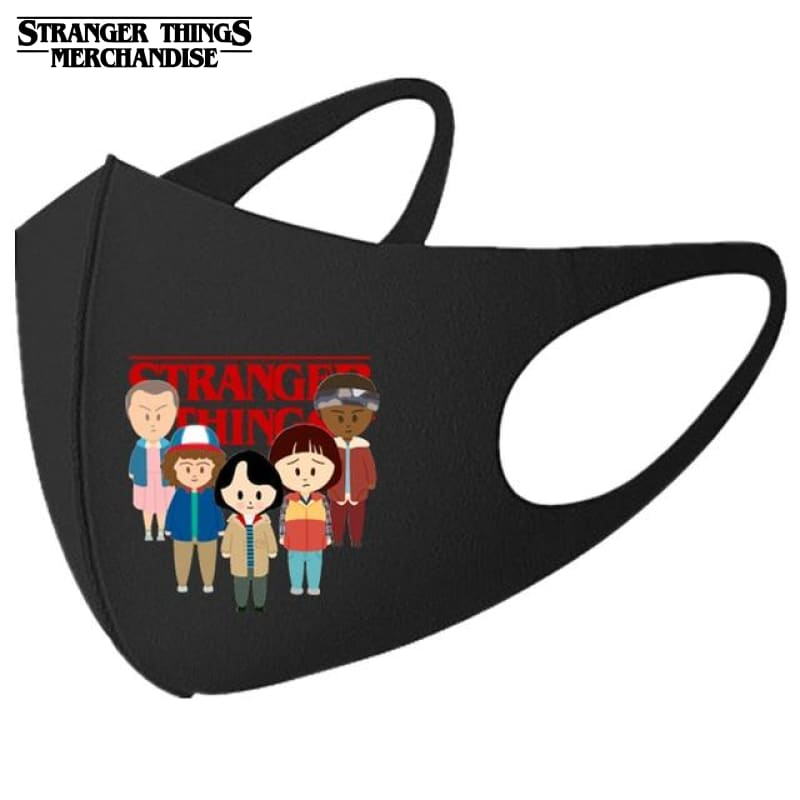Stranger Things Face Mask <br>Bobbleheads