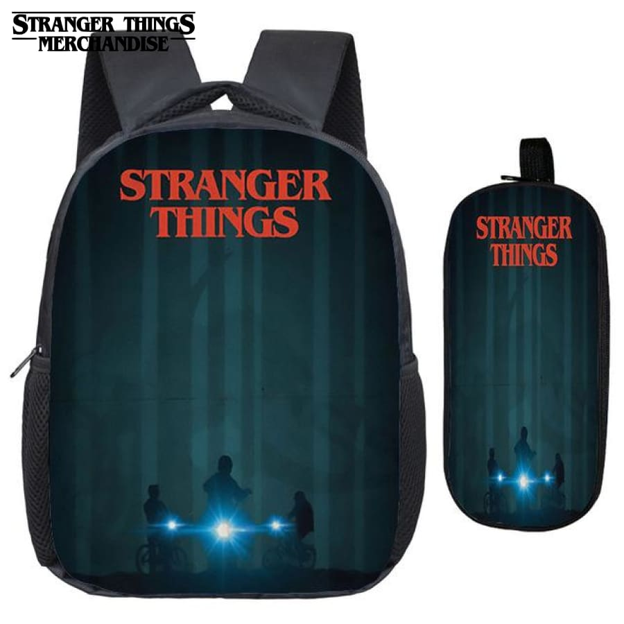 Stranger Things Backpack for School (FREE Pencil Case) <br> Boxlunch