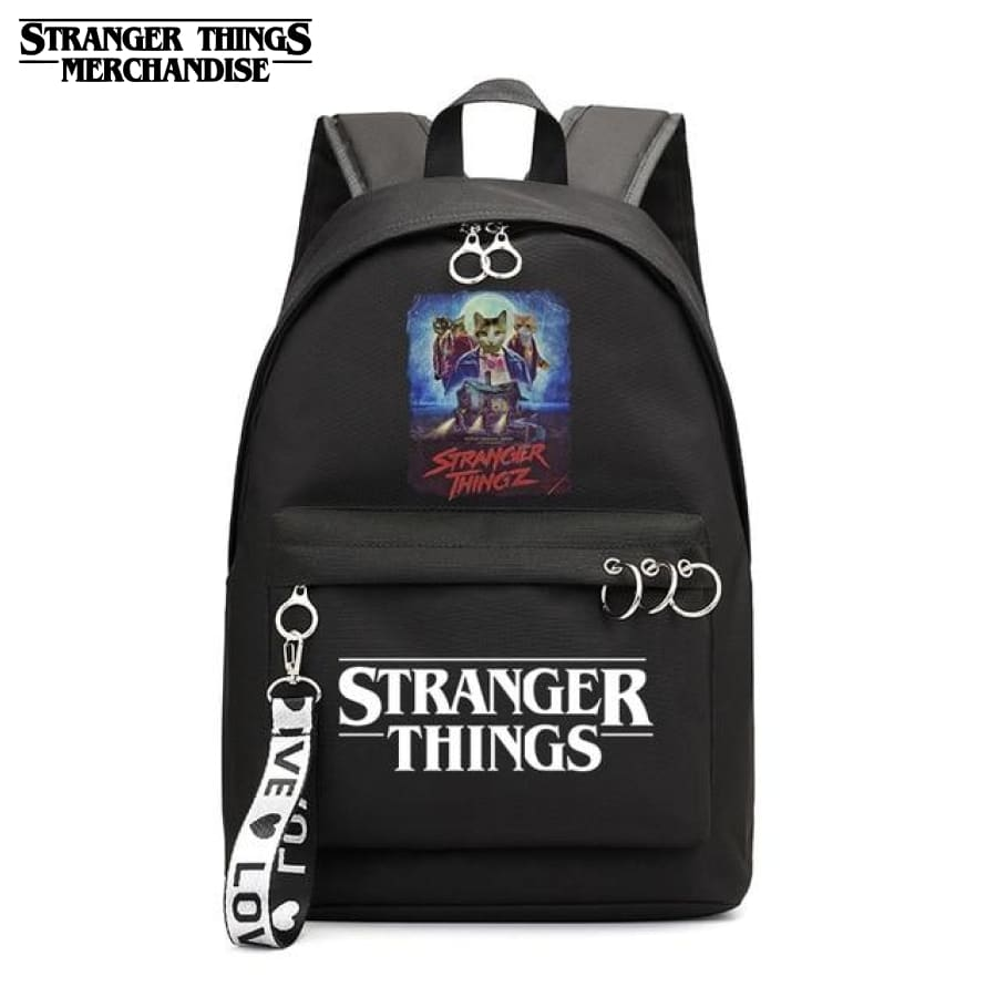 Stranger Things Mini Backpack <br> Cat