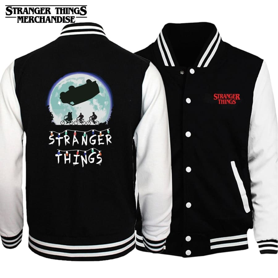 Stranger Things Varsity Jacket <br>Christmas Lights