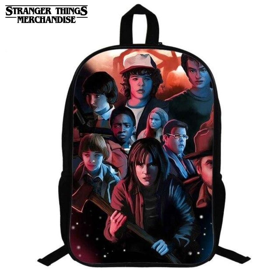 Stranger Things Backpack <br> Comics