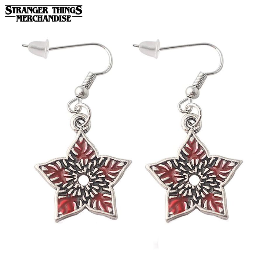 Stranger Things Earrings <br>Demogorgon