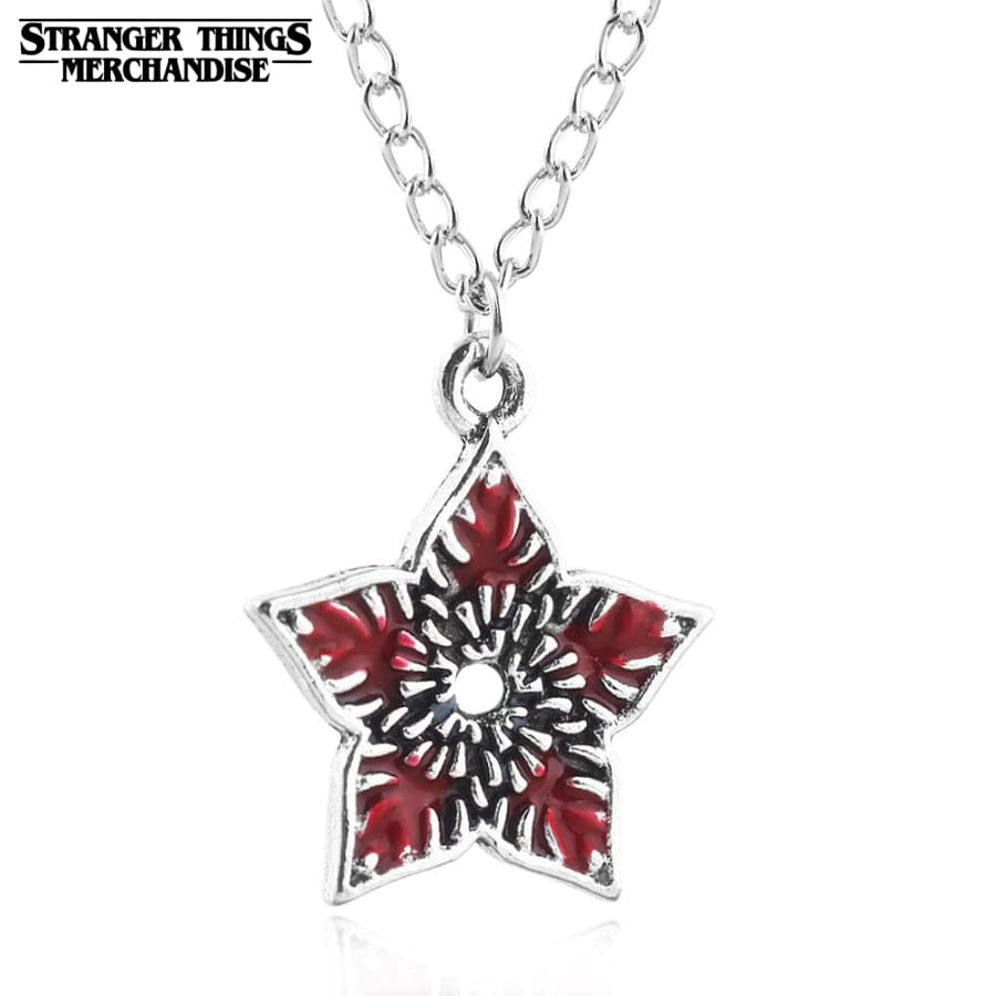 Stranger Things Necklace <br>Demogorgon