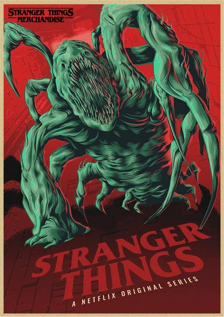 Stranger Things Season 3 Poster <br> Demogorgon