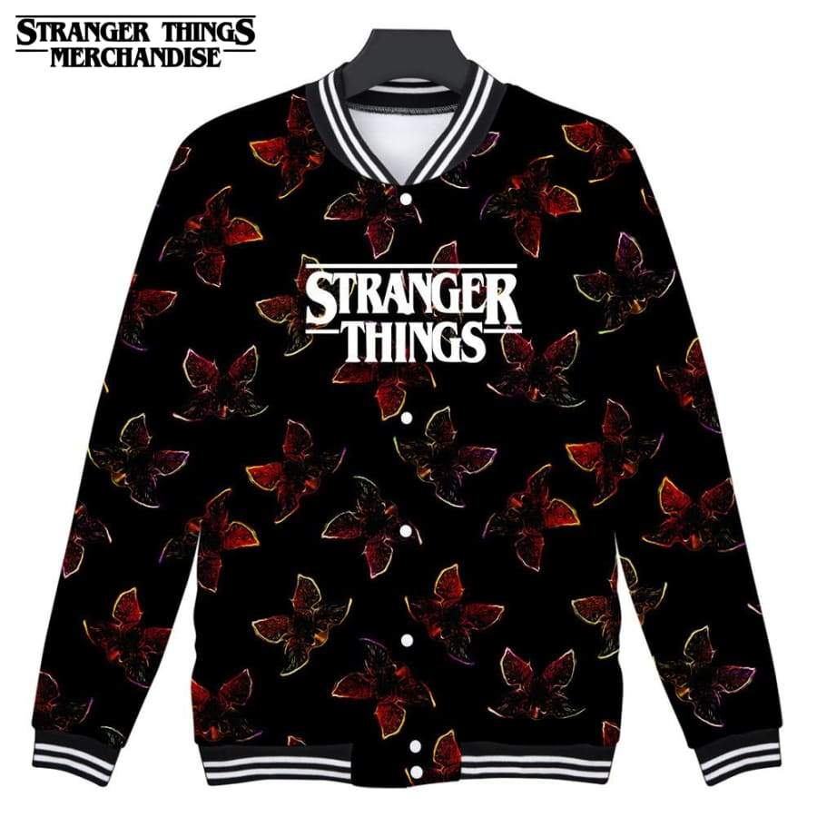 Stranger Things Varsity Jacket <br>Demogorgon