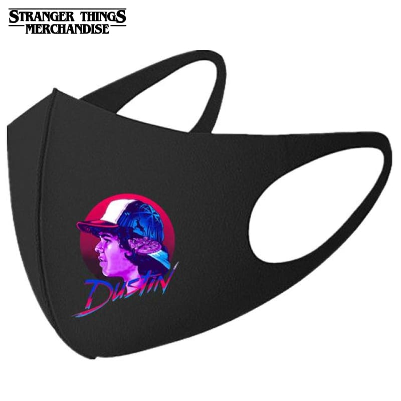 Stranger Things Face Mask <br>Dustin