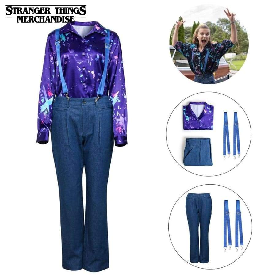Stranger Things Outfit <br>Eleven blue Outfit (Season 3)