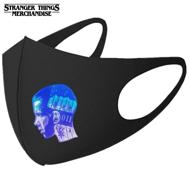 Stranger Things Face Mask <br>Eleven