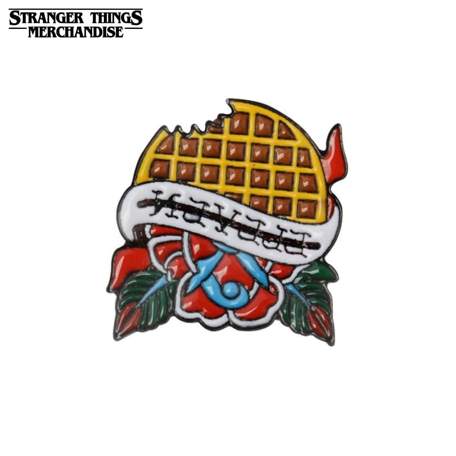 Stranger Things Pin <br>Eleven Eggo Waffle