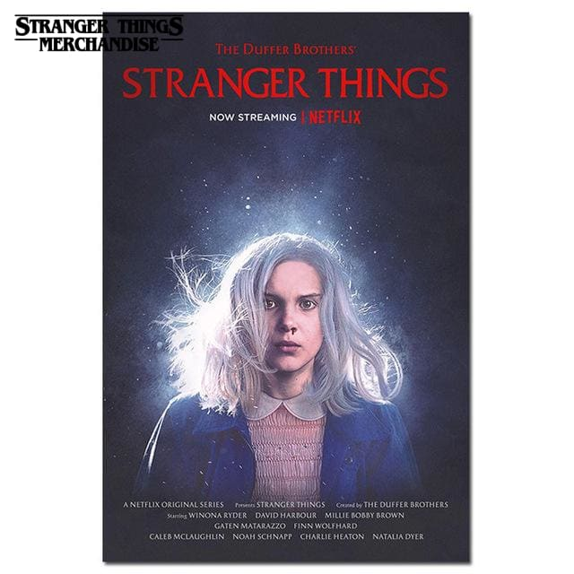 Stranger Things Poster <br> Eleven (Season 3)