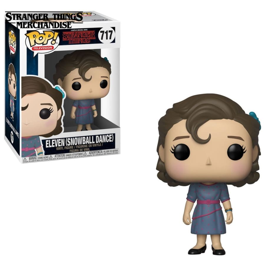 Eleven snowball dance funko pop