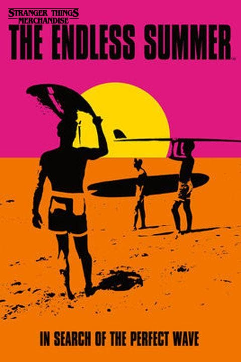 Stranger Things Season 3 Poster <br>The Endless Summer