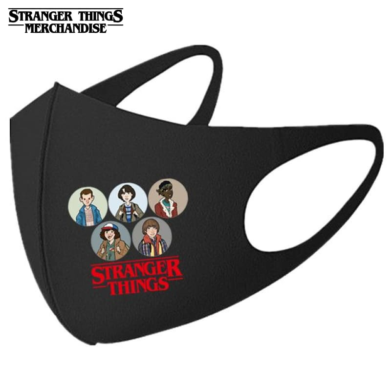 Stranger Things Face Mask <br>Family
