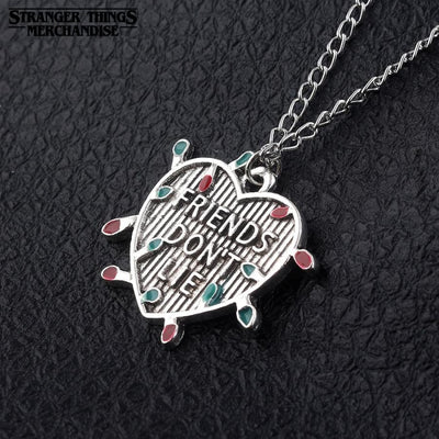 Friend don't lie necklace