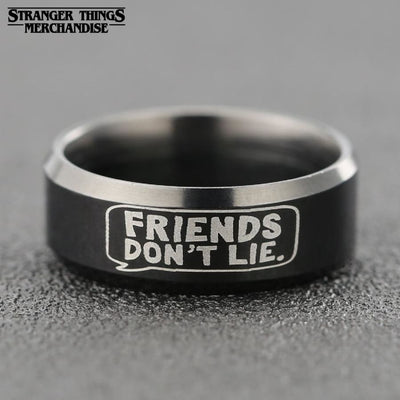 Friends Don't Lie Ring
