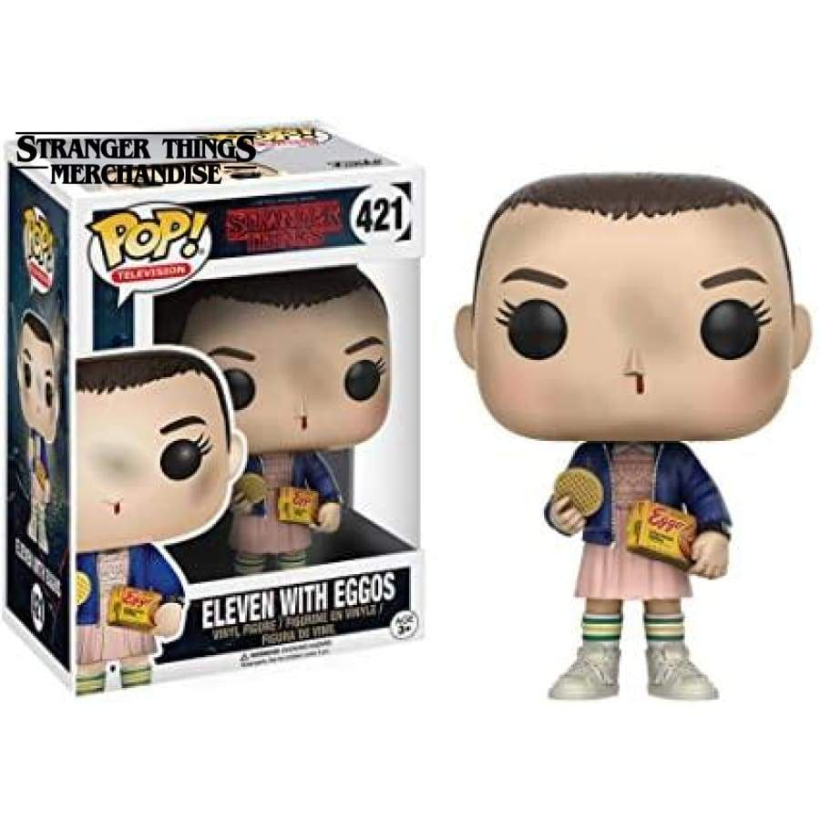 Funko pop Eleven with eggos
