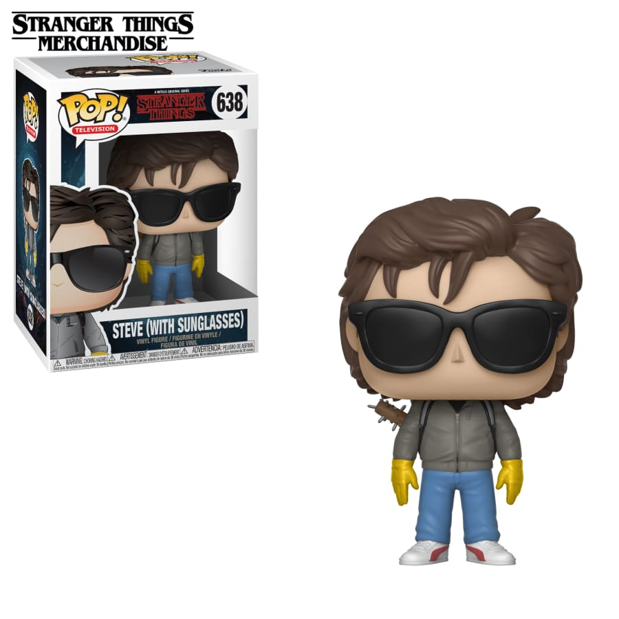 funko pop steve with sunglasses