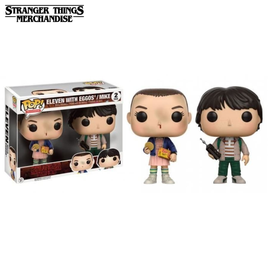 Funko pop stranger things mike and eleven