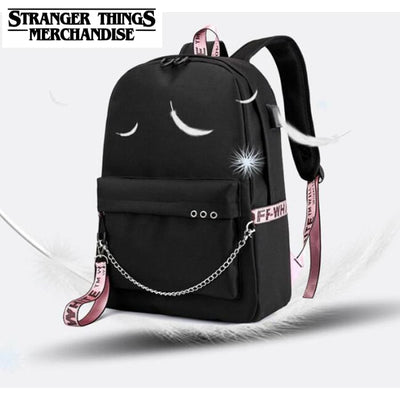 Girls backpack with charger