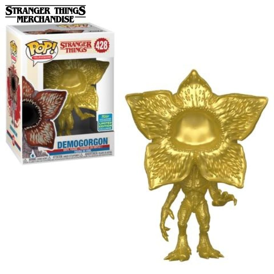 Stranger Things Funko Pop <br>Gold Demogorgon