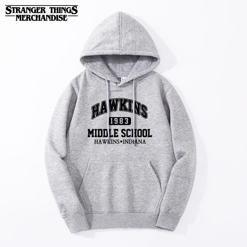 Stranger Things Hoodie <br> Hawkins Middle School