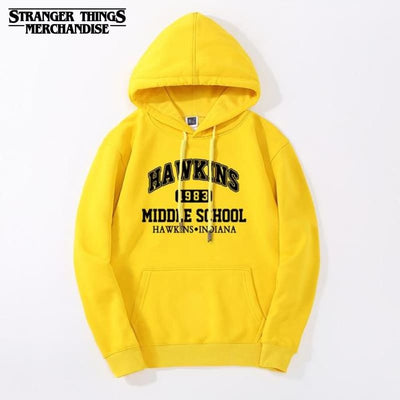Hawkins middle school Stranger Things Hoodie