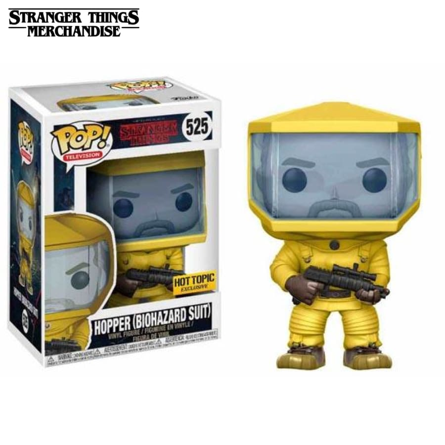 Hopper biohazard suit funko pop