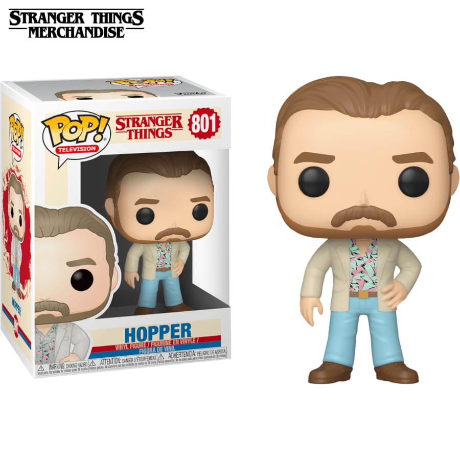 Stranger Things Funko Pop <br>Jim Hopper
