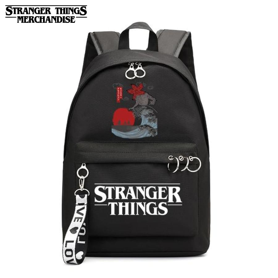 Stranger Things Mini Backpack <br> Japanese School