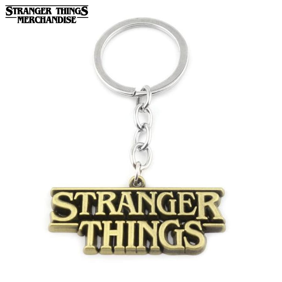 Stranger Things Keychain <br>Logo