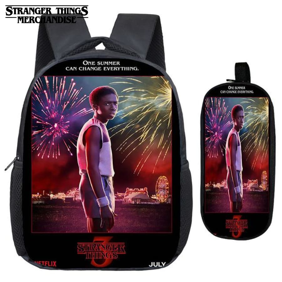 Lucas Backpack Stranger Things