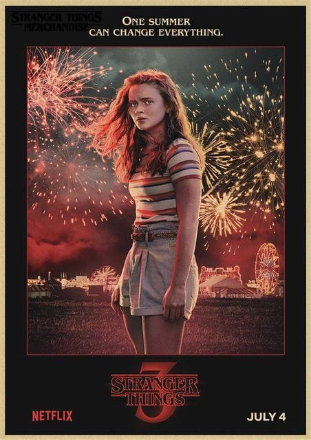 Stranger Things Season 3 Poster <br> Max