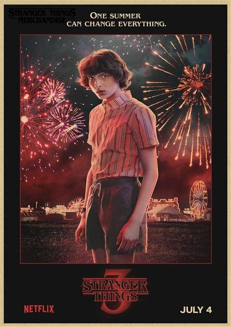 Stranger Things Season 3 Poster <br> Mike