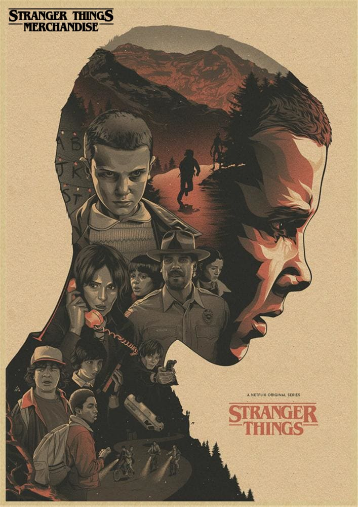 Stranger Things Poster <br>Minimalist