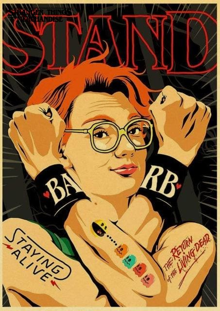 Stranger Things Poster <br> Missing Barb