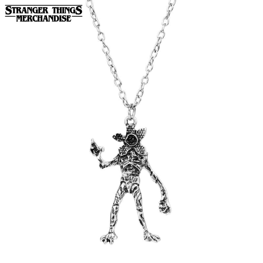 Stranger Things Necklace <br>Demogorgon Monster