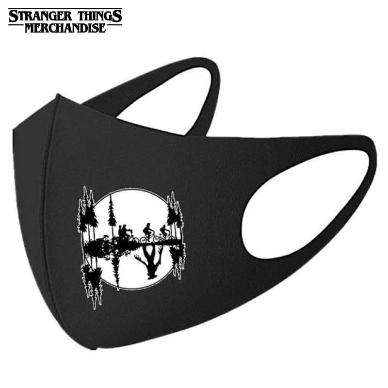 Stranger Things Face Mask <br>Moon