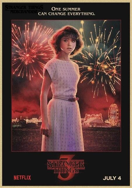Stranger Things Season 3 Poster <br> Nancy Wheeler